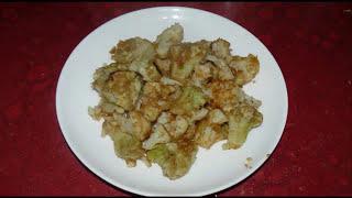 Как приготовить цветную капусту вкусно, быстро и полезно. Самый простой рецепт.
