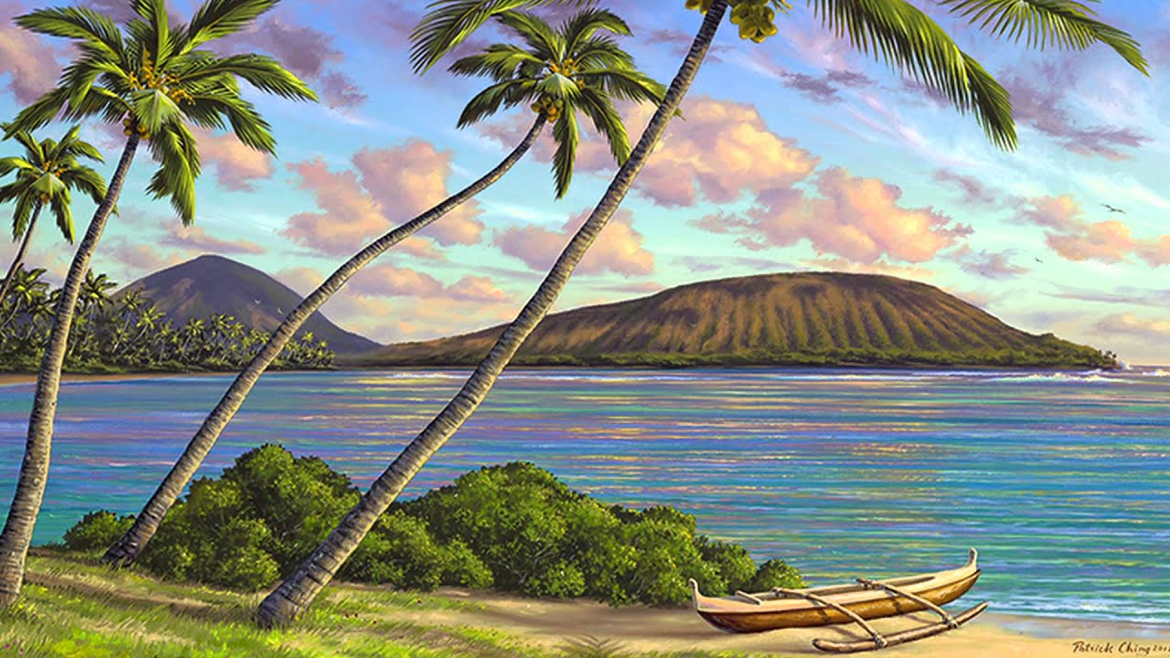 Fabulous Patrick Ching's Art Tips - Coconut Trees - YouTube VH32
