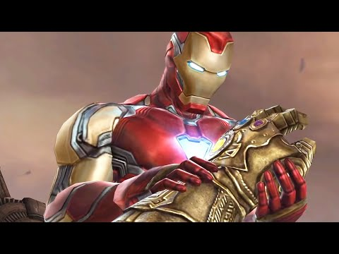 Marvel Future Fight - Avengers Endgame Thanos Boss Battle