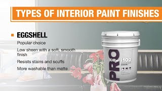 Types Of Paint Finishes The Home Depot
