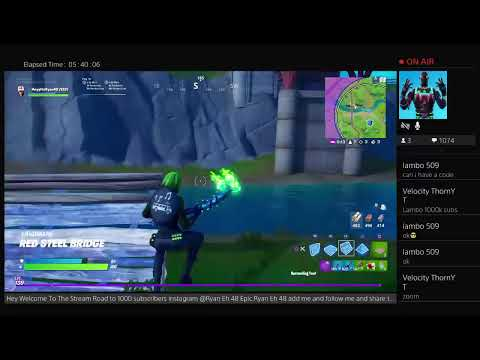 Fortnite MERRY MINT PICKAXE Giveaway AT 1000 Subscribers!!