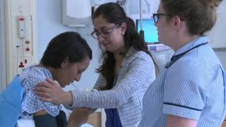 Pain relief in labour: epidurals - English