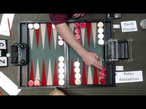Carolina Backgammon R7 Petko Kostadinov v David Presser