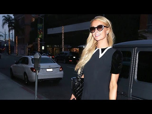 Paris Hilton Gives Fans Some Holiday Love - EXCLUSIVE