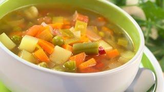 Правильное питание  Суп для ребенка