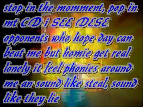 Lost My By Dee The Rapper *Lyrics on screen*