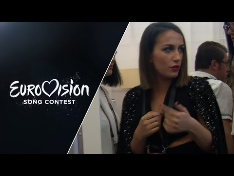 Backstage: Elhaida Dani (Albania)