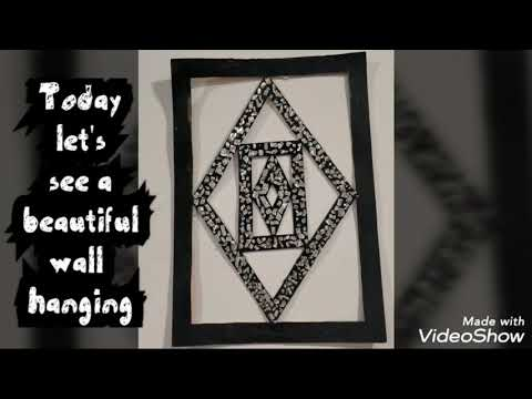 Wall hanging craft ideas | beautiful easy craft idea