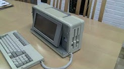 Laite-esittelyssä Sharp PC 7000 kannettava tietokone