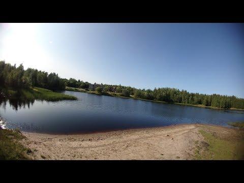 Это Россия Тихое место-Архангельск Аэропорт талаги озеро Яда...и водопад..