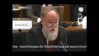 Professor Dr. Kruse: Aussage bzgl. Vernetzung, Machtverschiebung, Internet Revolution