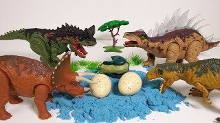 Who's Dinosaur Eggs? Jurassic World Dinosaur Born In Dinosaur Eggs 공룡 알 부화 티라노사우루스