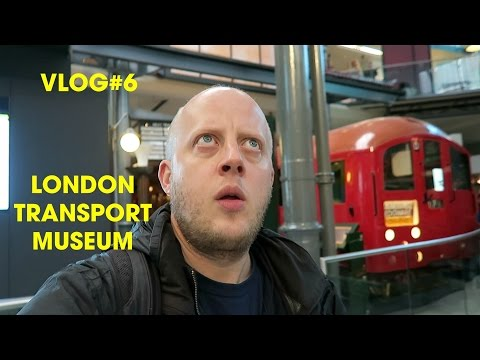 London Transport Museum - Vlog#6 - Seven Days in London