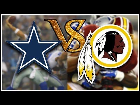 510aecb26fe Washington Redskins vs Dallas Cowboys - YouTube