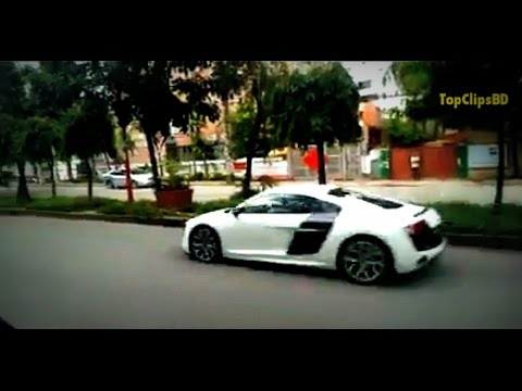 BD Car Race Audi R8, Nissan GTR, Ferrari || MIND BLOWING MUST WATCH!!!Bangladesh