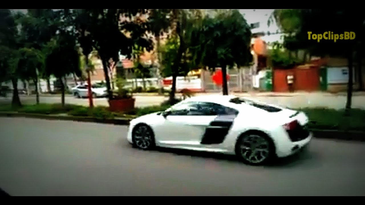 BD Car Race Audi R8, Nissan GTR, Ferrari || MIND BLOWING MUST WATCH!!! Bangladesh   YouTube