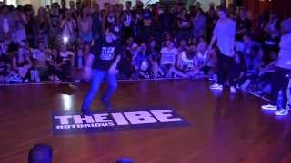 IBE 2013 Day 3 || BGirl 2VS 2 Battle Final  Vs Bo &  || TheNotoriousIBE x MrOfColors ||