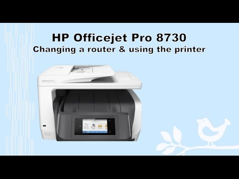 Hp Officejet Pro 8710 8720 8730 8740 Changing To A
