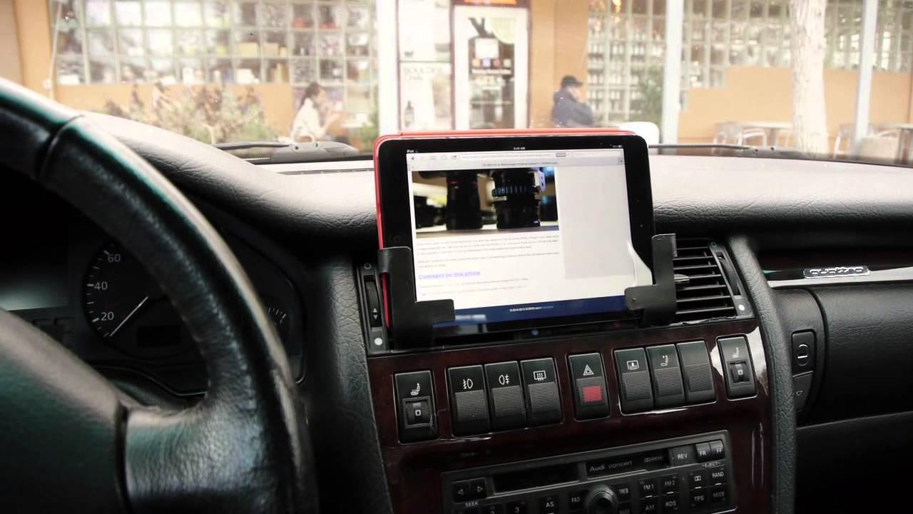 Audi A8 - iPad Mini - YouTube