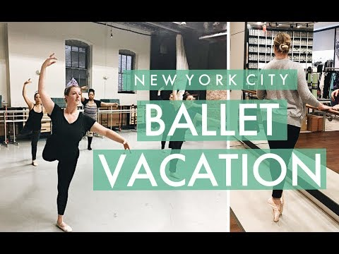 Ballet Vacation in NYC!