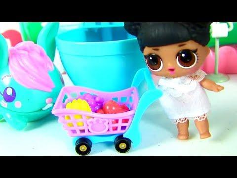 МУЛЬТИК УТРО КУКЛЫ ЛОЛ! Pooparoos - Сюрпризы в Школе Шопкинс! lol Surprise Dolls Видео для детей