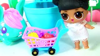 МУЛЬТИК УТРО КУКЛЫ ЛОЛ! Pooparoos - Сюрпризы в Школе Шопкинс! lol Surprise Dolls Видео для детей