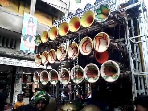 Shubham Dhumal Durg, Mara rashke qamar  song, in Nagpur on -6-7-2017