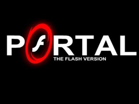 PORTAL IN 2D ! - Portal: The Flash Version - Webcam LIVE