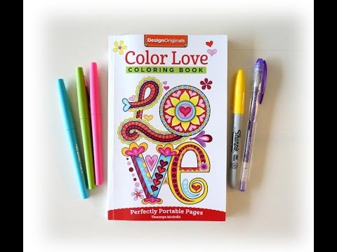 Color Love Coloring Book Slideshow