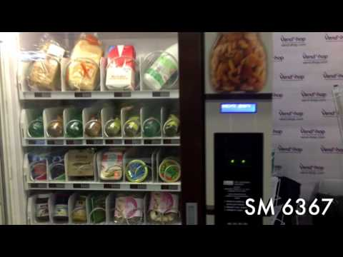 Автомат для продажи тортов и выпечки. Торговые автоматы VendShop на выставке PIR EXPO 2016