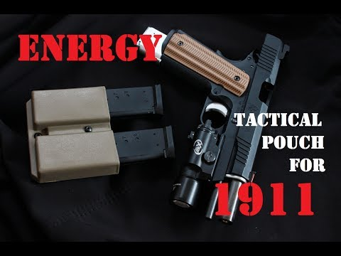 AIRSOFT | REVIEW | TBC | Energy Tactical Pistol Mag Pouch For 1911