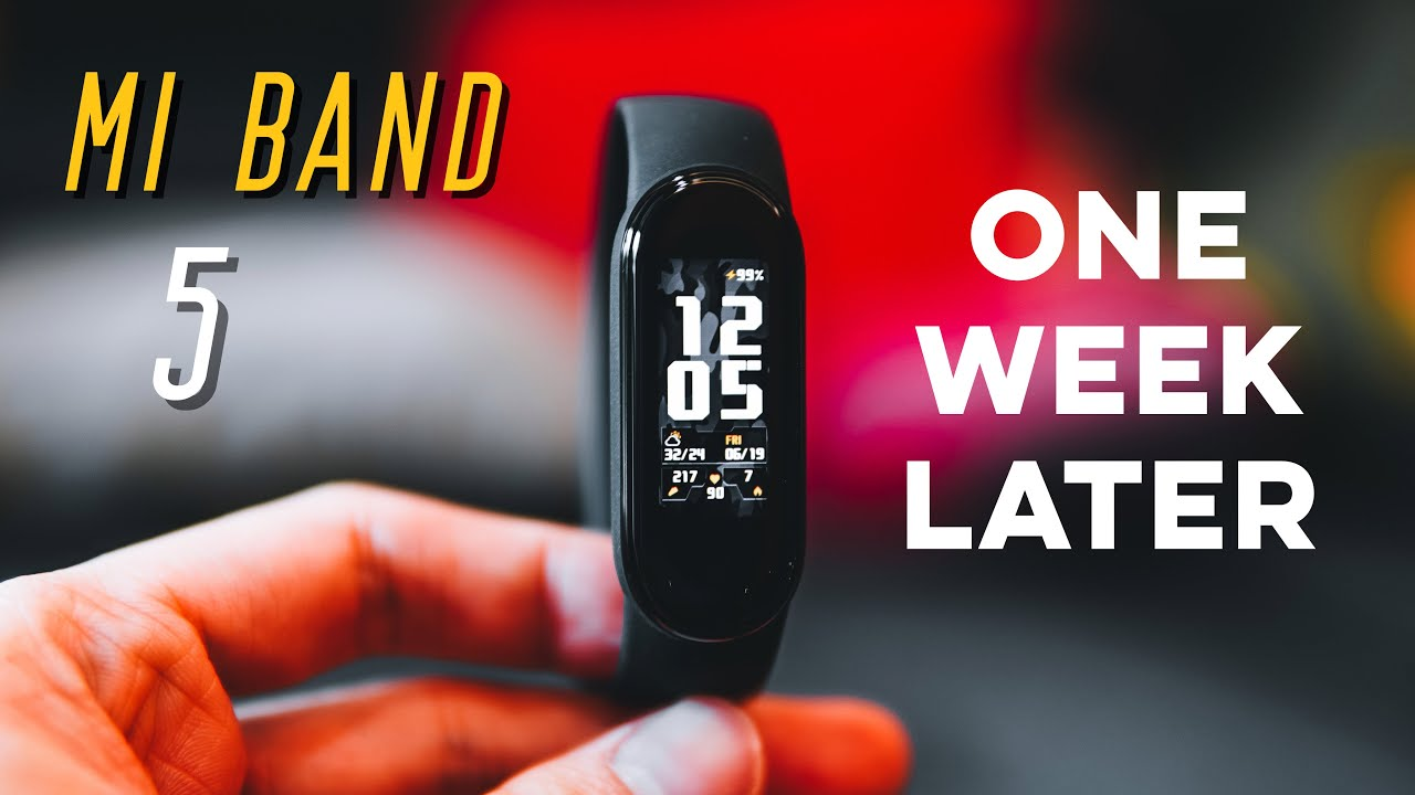 Xiaomi Mi Band 5 One Week Review -  3 MAIN Things You MUST Know!