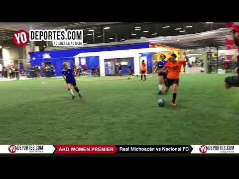 Real Michoacán vs Nacional FC AKD Women Premier Academy Soccer League