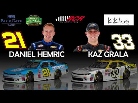 2018 NASCAR XFINITY Series Driver/Team Chart Video