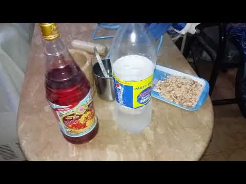 Roh afza with milk sharbat