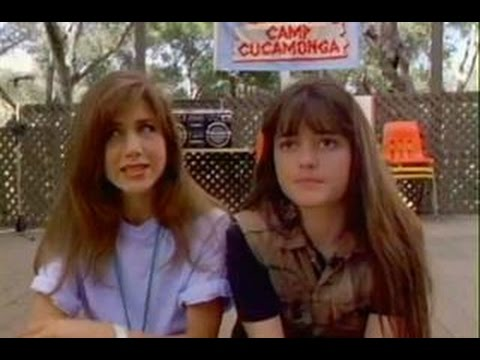 Camp Cucamonga 1990 Jennifer Aniston  Danica McKellar  Candace Cameron  tv movie 90s