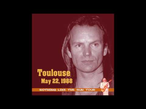 "Sting- Toulouse, France ""Palais des Sports"" 5-22-1988 (FULL SHOW)"
