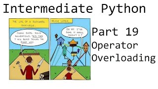 Operator overloading - Intermediate Python Programming p.19
