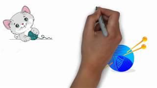Вязание крючком. Урок 1. Как набирать воздушные петли?