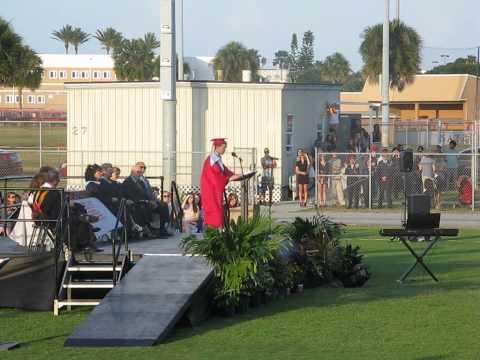 2015 SHS Graduation Max Hoffman Speech
