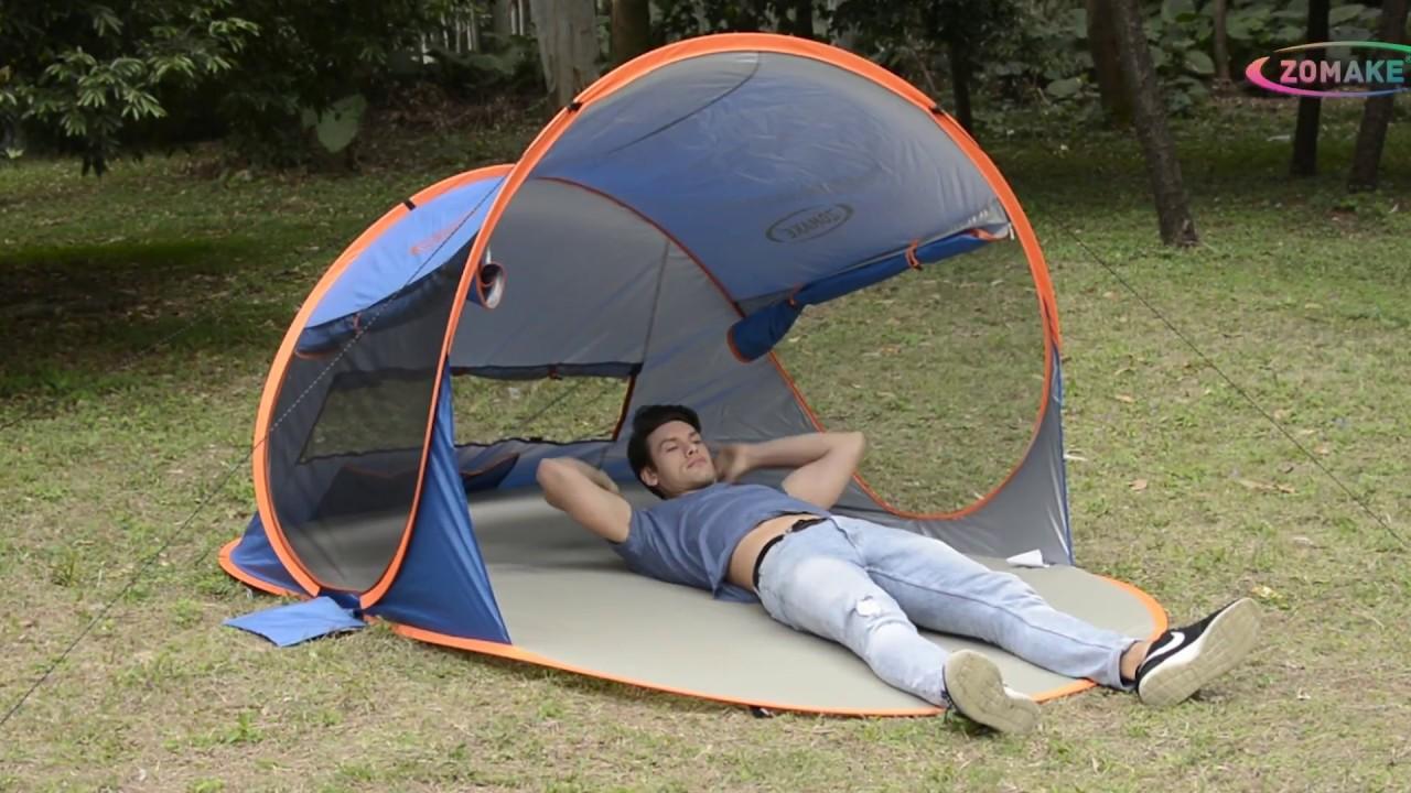 Zomake Pop Up Beach Tent Xl You