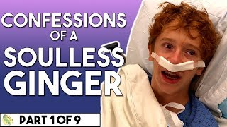 Anson gets his tonsils removed and confesses to being a soulless gi...