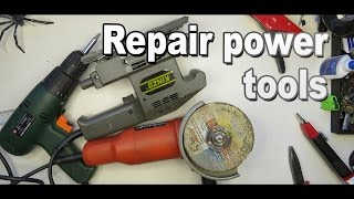Ремонт шнура электроинструмента. Почини сейчас! / Simple Repair power tools. Make repairs now!(Ремонт электроинструмента. Первая поломка это как правило шнур питания. Оболочка шнура лопается в районе..., 2015-11-15T15:40:47.000Z)