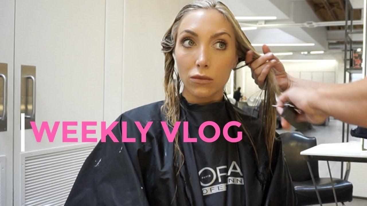 Weekly Vlog Haircutreportingworkoutsdenver Nights Youtube