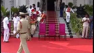 CM KCR Swearing Ceremony At Raj Bhavan 2018 LIVE  Pramana Sweekaram  Highlights 3