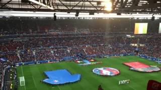 belgium italy 13 06 16 euro lyon national anthem