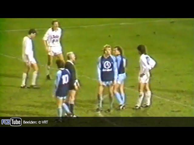 1987-1988 - Beker Van België - 03. 8ste Finale - Club Brugge - KV Mechelen 1-2