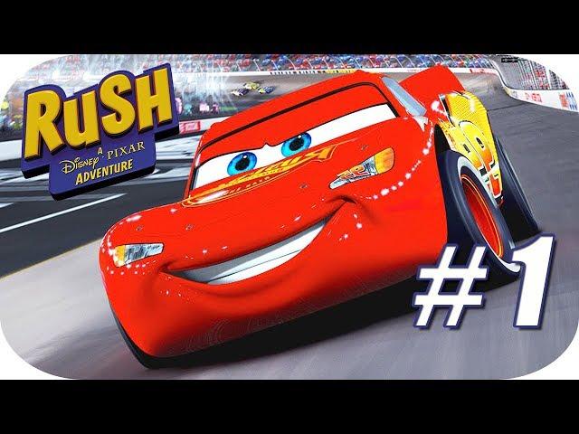 🎅 Rush: Una Aventura Disney Pixar - Capítulo 1 - Mundo de CARS Rayo McQueen y sus Amigos🎄