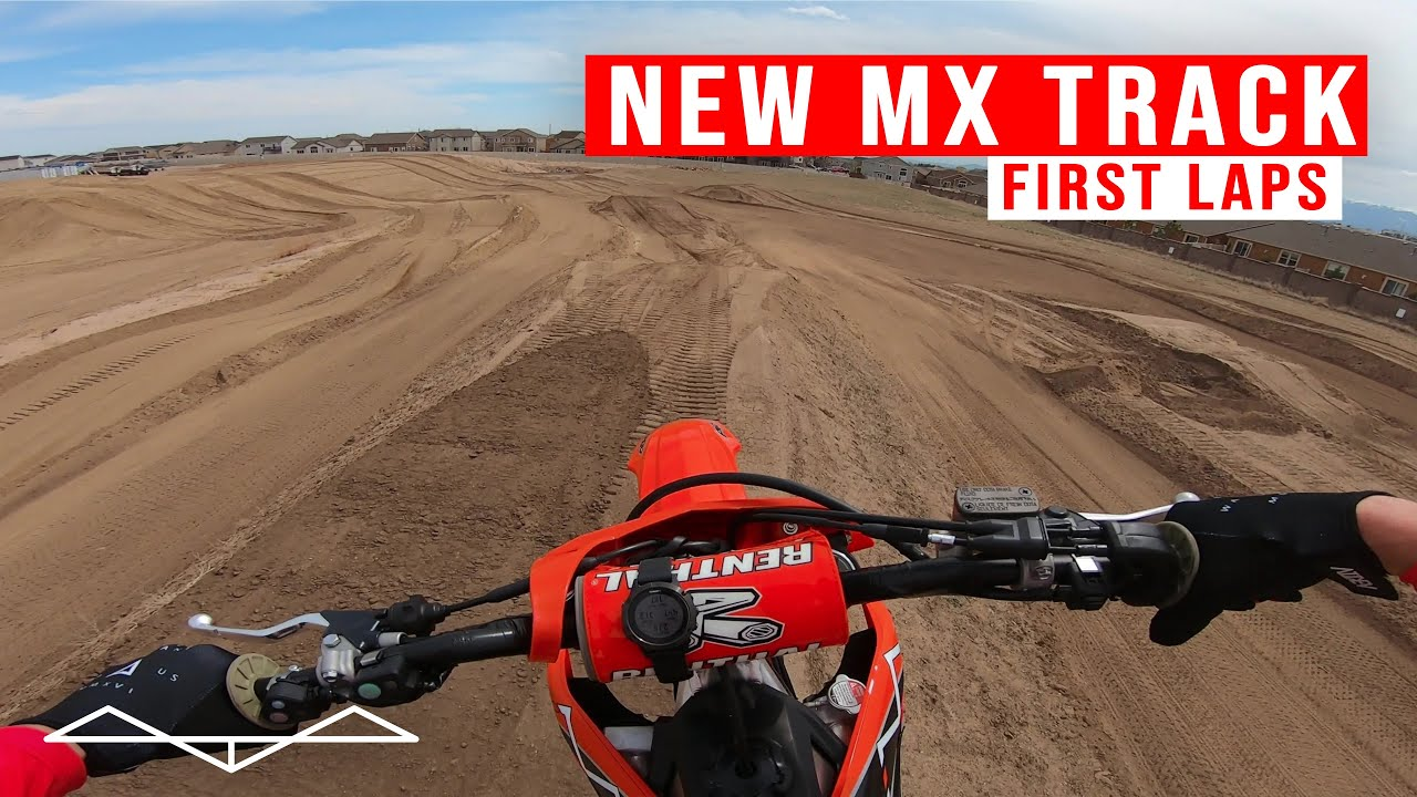 First Laps on my new MX Track   GoPro