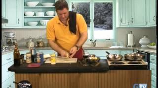 Balsamic Alfredo Chicken And Arancini Di Riso